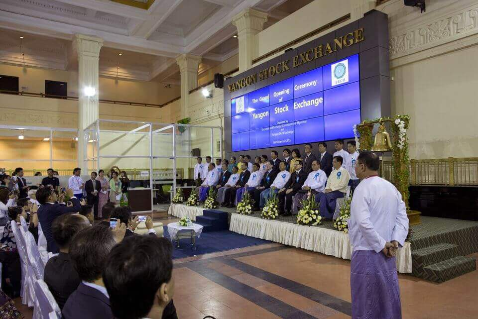 Myanmar Stock Exchange Finally Opens